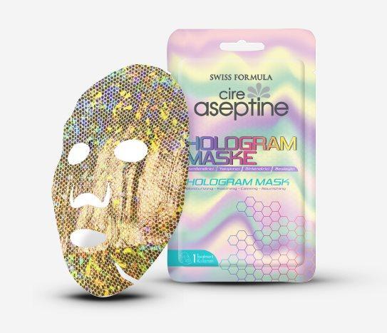 hologram maske cire aseptine
