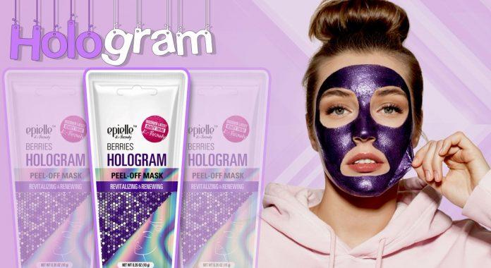 hologram maske-kapak
